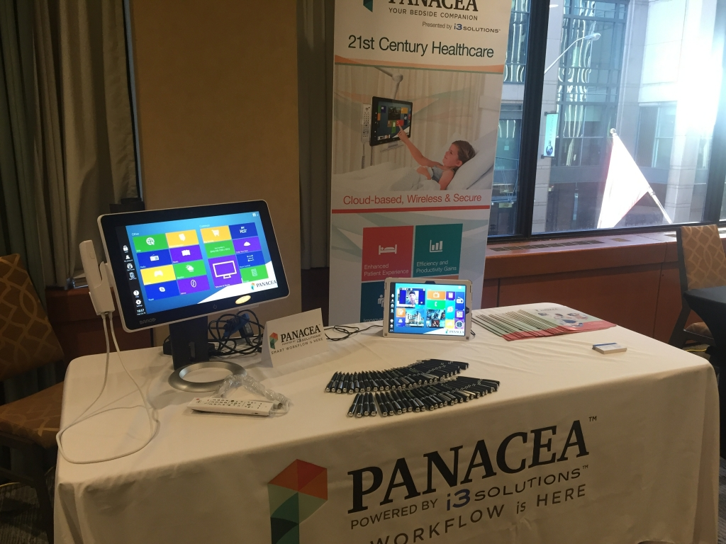 The Panacea™ booth at CHBDN located in salon E-F